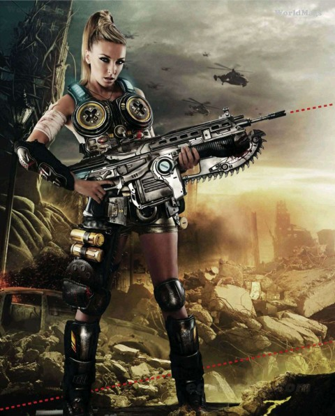 Does Sex Sell Gears Of War 3? Anya Gets Risque