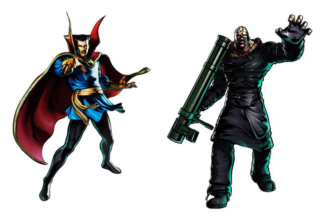 Marvel Vs. Capcom 3 Introduces Dr. Strange And Nemesis T-Type