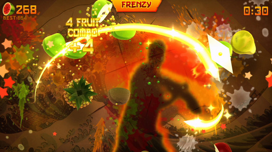 Review: Fruit Ninja Kinect… Hieee-yah!