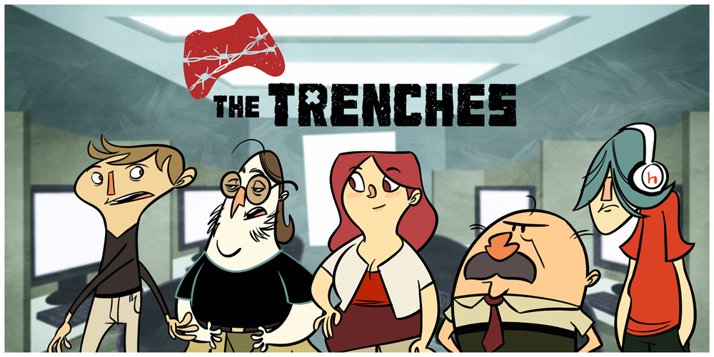The Trenches: A New Web Comic From The Makers Of PvP And Penny Arcade