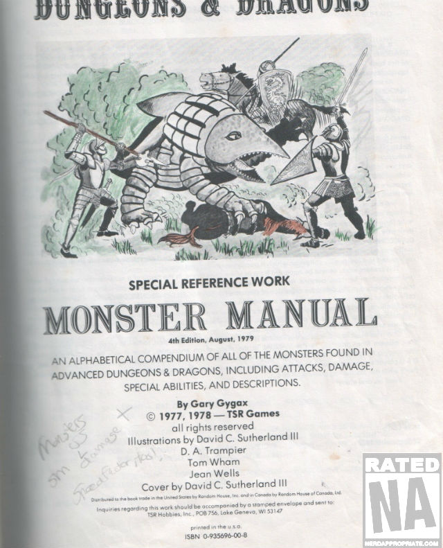 NA DND MONSTER MANUAL