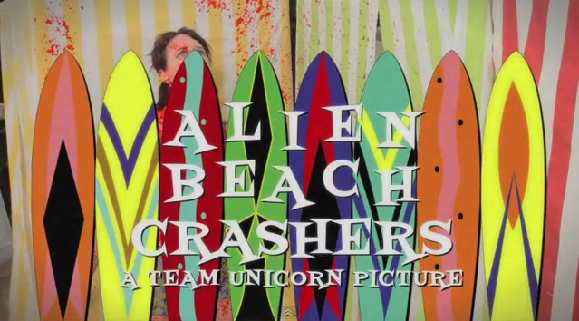 NA TEAM UNICORN ALIEN BEACH CRASHERS LOGO