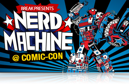 Comic Con 2011:  Nerd Machine Breaks The Mold