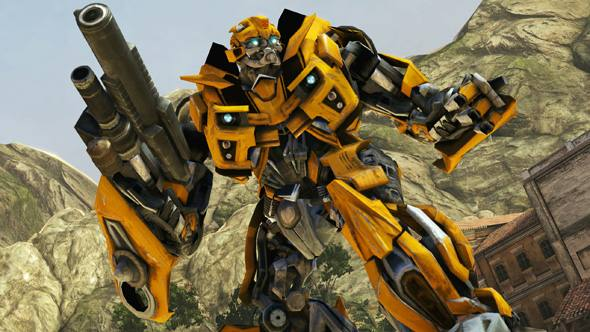 Transformers: Dark Of The Moon: The Game: The Review