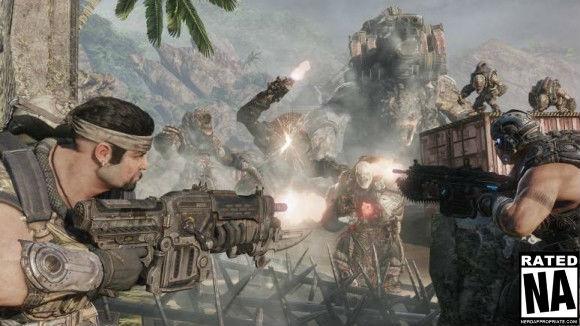 Gears Of War 3: Horde 2.0 Briefing Video – Starring Anya Stroud