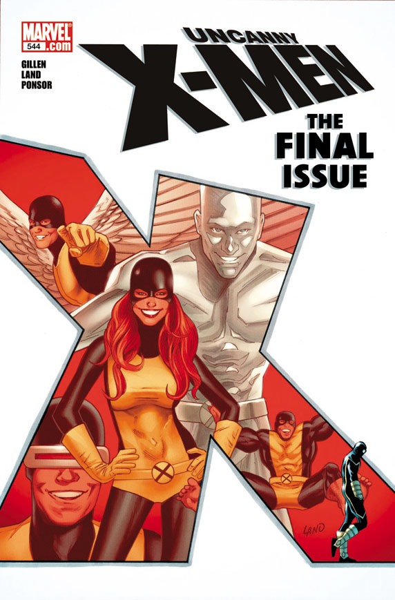 NA XMEN FINAL ISSUE