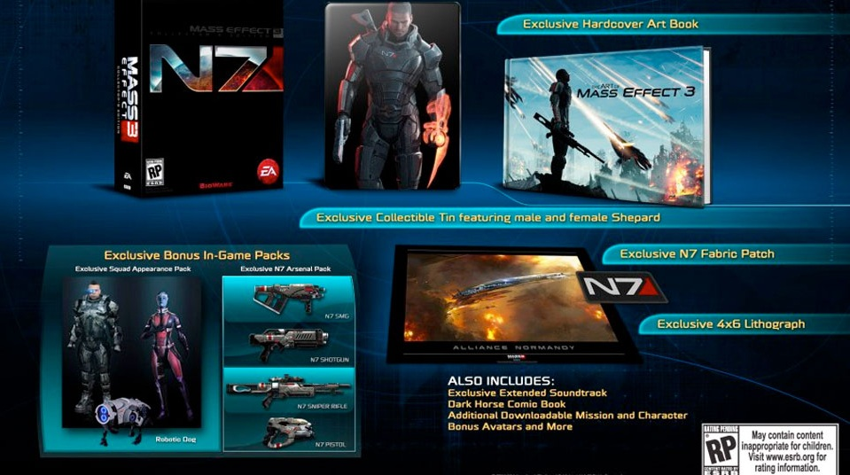Mass Effect 3: Picking Apart The N7 Collector's Edition.