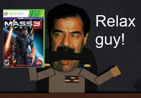 ME3 Better With Kinect? Don't Fret