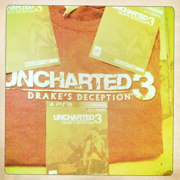 Contest: Uncharted 3 Promo Package (T-shirt / Exclusive In-game Items)!