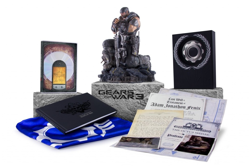 Gears Of War 3: The End Of Beta! (sadness) & Collector's Edition Contents! (joy)