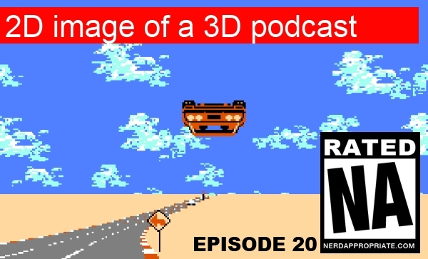 Rated NA 20: 2D Image Of A 3D Podcast