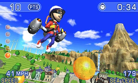 Pilotwings Resort… In 3D!!