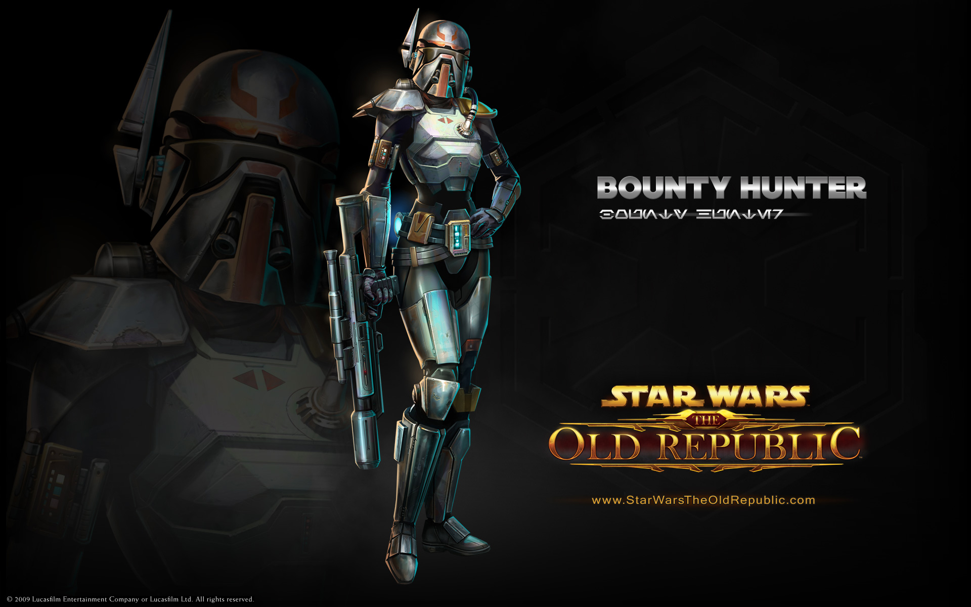 Star Wars The Old Republic: Bounty Hunter Reveal