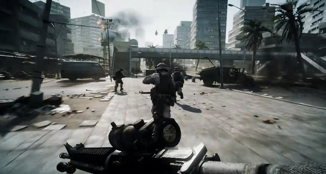 Battlefield 3: First Game Play Trailer.