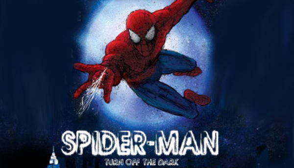 SpiderMan Musical Poster