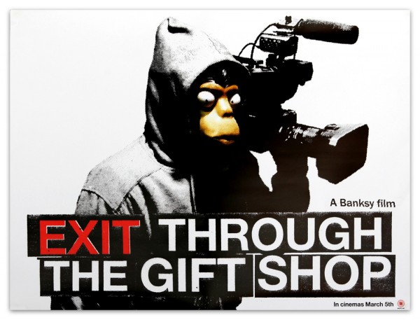 Banksy Exit Through The Gift Shop Limited Movie Poster 600×457