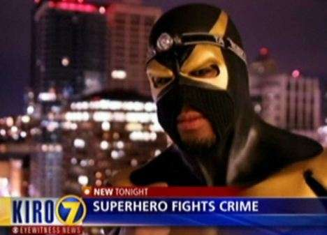 "Seattle Based Real ""super Hero"" Phoenix Jones Hurt In The Line Of Duty."