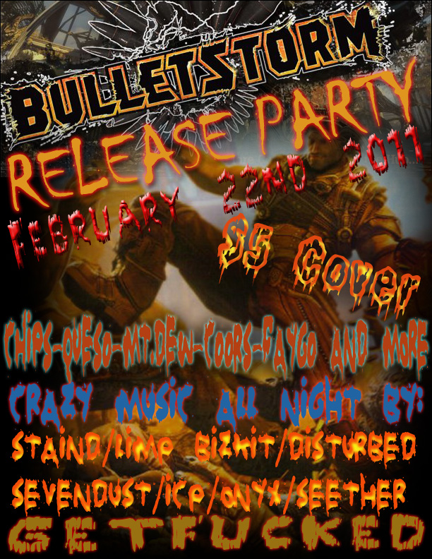 Bulletstorm Party