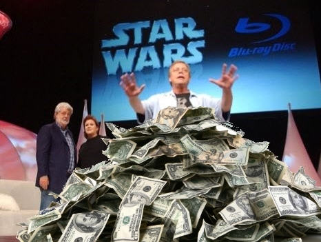 StarWars BluRay