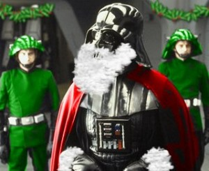 Merry X-Mas!  Now Close Your Eyes And Picture Vader.