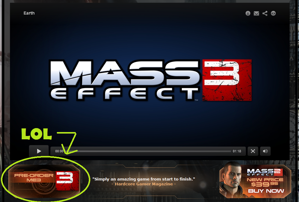 Mass Effect 3 Available For Pre-order… Now?