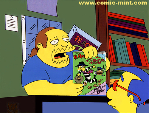 Comic Book Guy Milhouse(1)