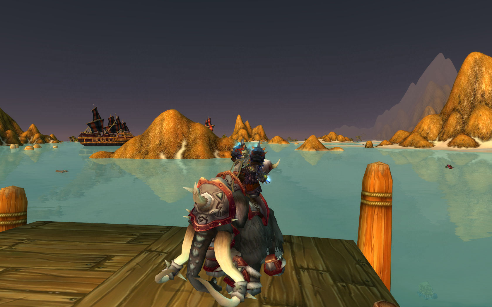 On The Docks Of Tanaris Which Is Now Flooded.