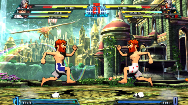 Marvel Vs Capcom 3 Arthur Ghosts N Goblins Screenshot Small