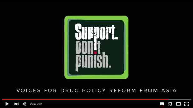 Support. Don't Punish – Voices for drug policy reform from Asia, Trailer