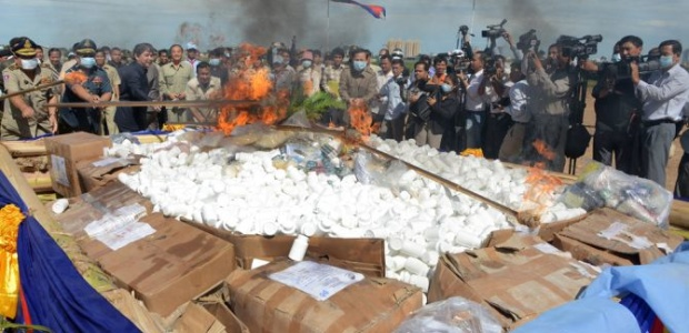 Drug policy issues in Cambodia