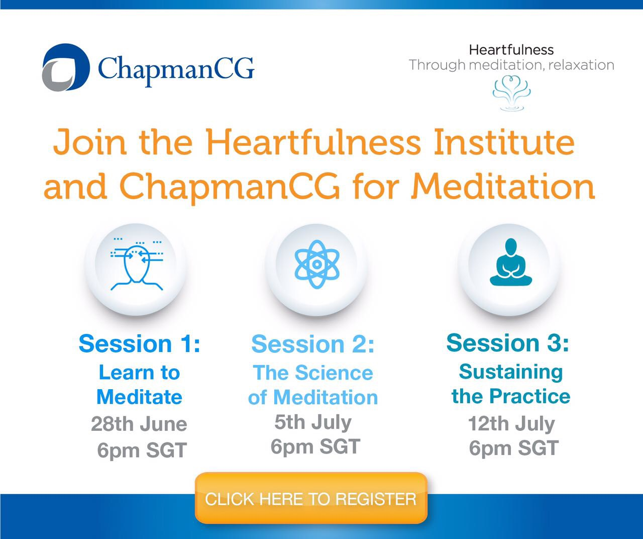ChapmanCG and the Heartfulness Institute Meditation Series
