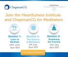 ChapmanCG and Heartfulness Institute Meditation Series