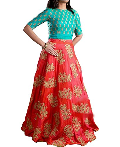 Jalpari Fashion Women's Silk Lengha Choli Price in India