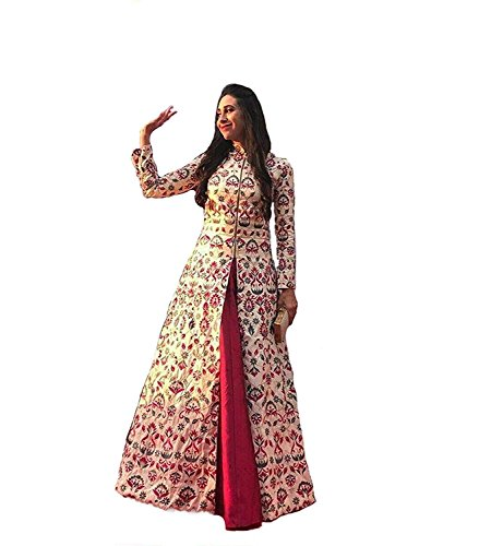Aarna Fashion's New gowns for women party wear lehenga choli for women party wear salwar suits for women stitched dress materials for women navratri special Long Gown Printed gown Price in India