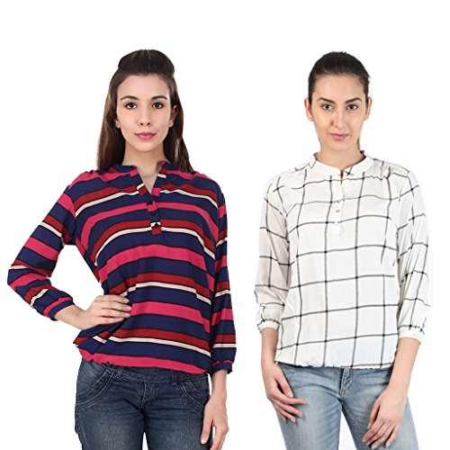 Mallory Winston 3/4 Sleeve Women's Balloon Top. Price in India