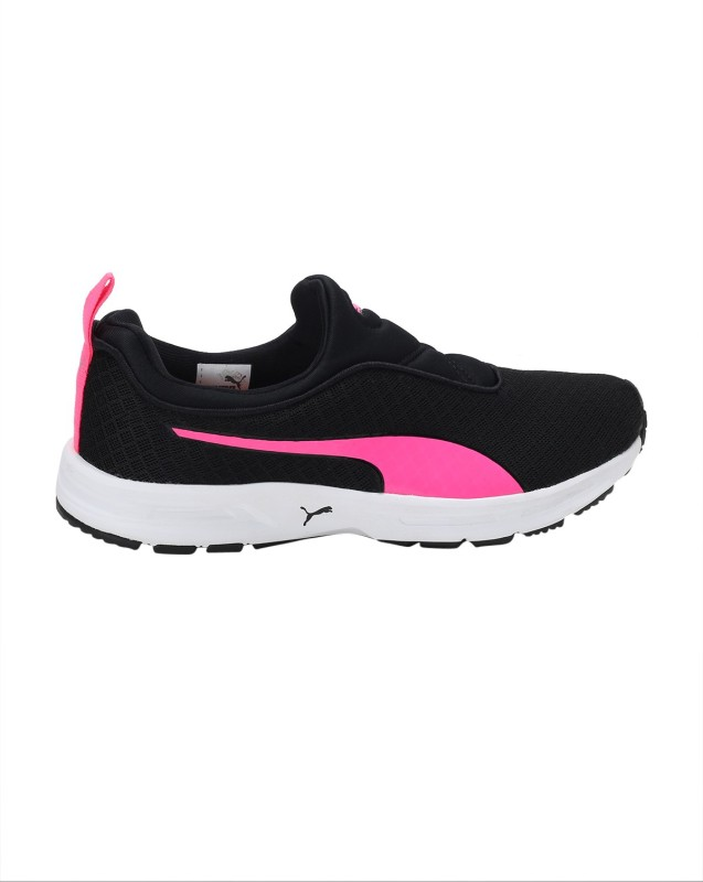 Puma Burst Slipon Wn's IDP Running Shoes(Black) Price in India