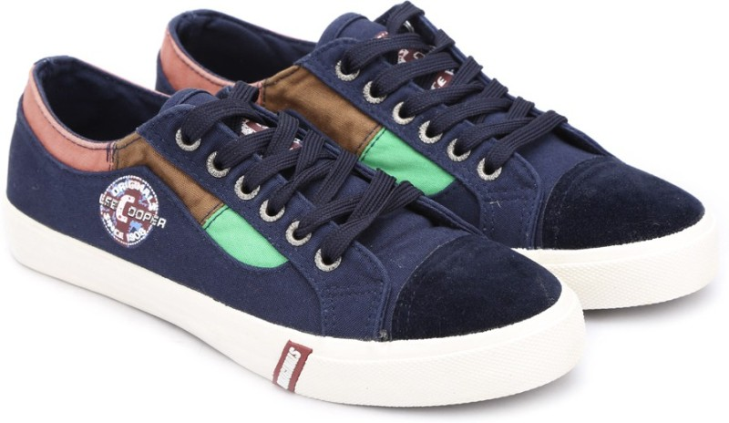 Lee Cooper Canvas Sneakers(Navy) Price in India