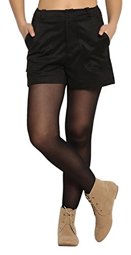 Abof Women's Synthetic Shorts Price in India