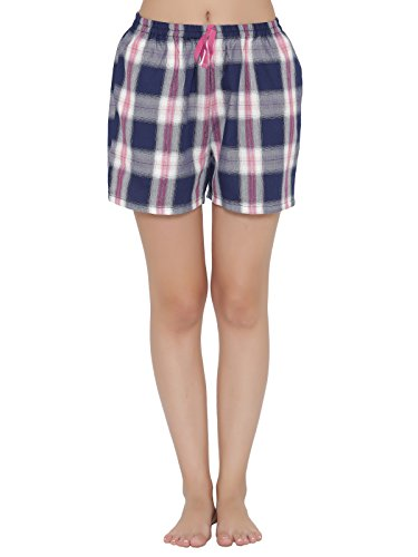 Clovia Cotton Rich Checked Boxers Shorts Price in India