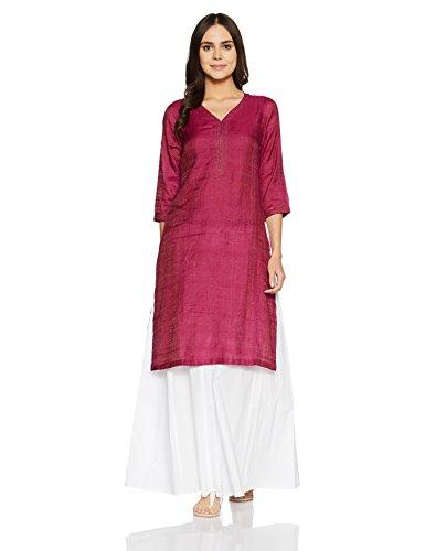 Fabindia Women's A-Line Silk Kurta Price in India