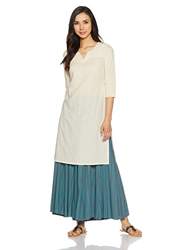 Fabindia Women's Straight Kurta Price in India