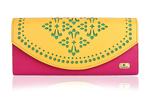 K London Stylish Women's Clutch Purse Women Wallet Price in India