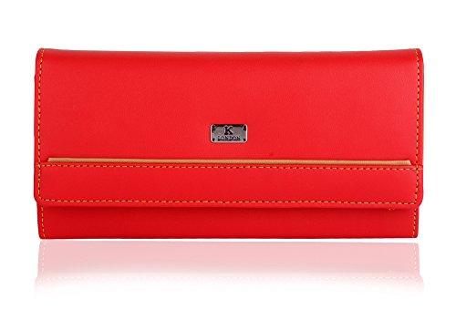 K London Red & Beige womens Wallet Price in India