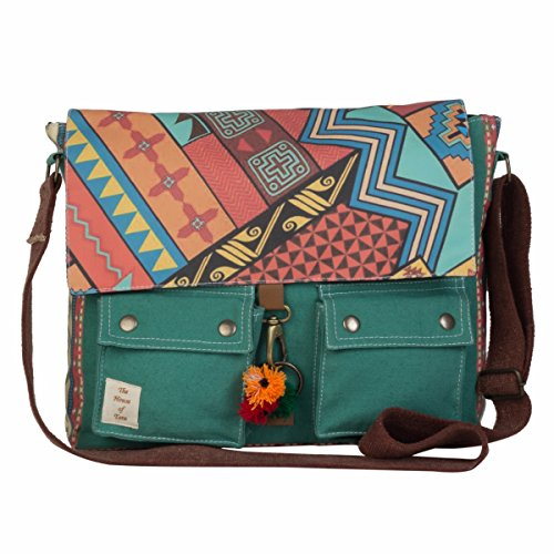 The House Of Tara Women's Messenger Bag Multicolour Htmb 018 Price in India
