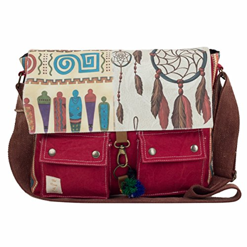 The House Of Tara Women's Messenger Bag Multicolour Htmb 016 Price in India