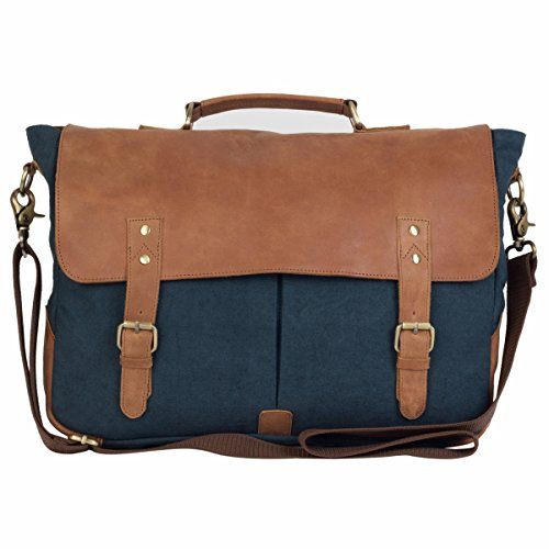 The House Of Tara Leather and Canvas Office and Laptop Bag Price in India