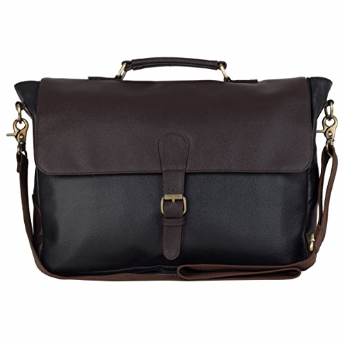 The House Of Tara Faux Leather Laptop and Office Bag Price in India