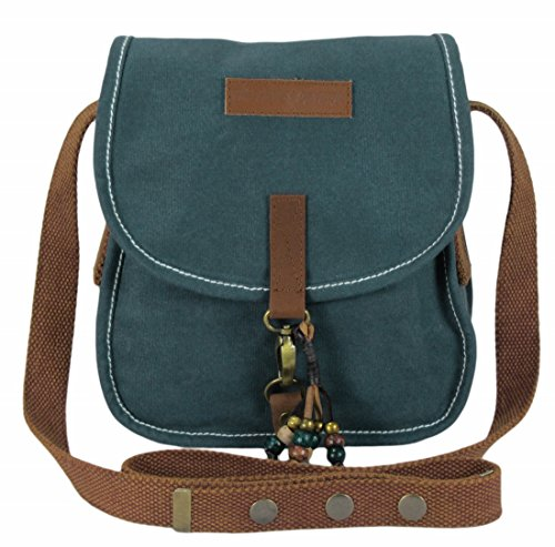 The House Of Tara Wax Coated Canvas Girls Messenger Bag Price in India