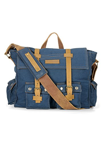 The House Of Tara Messenger Bag Combat Blue Price in India