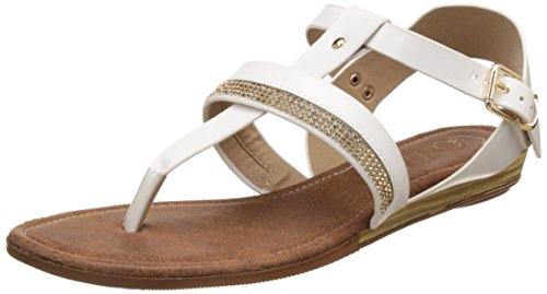 Catwalk Women's White Sandals- 7 UK/India Price in India